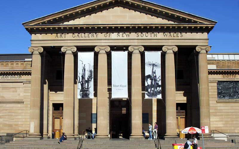 Main entrance of the Art Gallery of NSW
