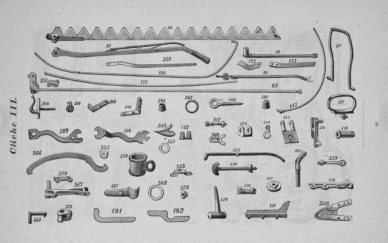 Vintage Technical Diagram