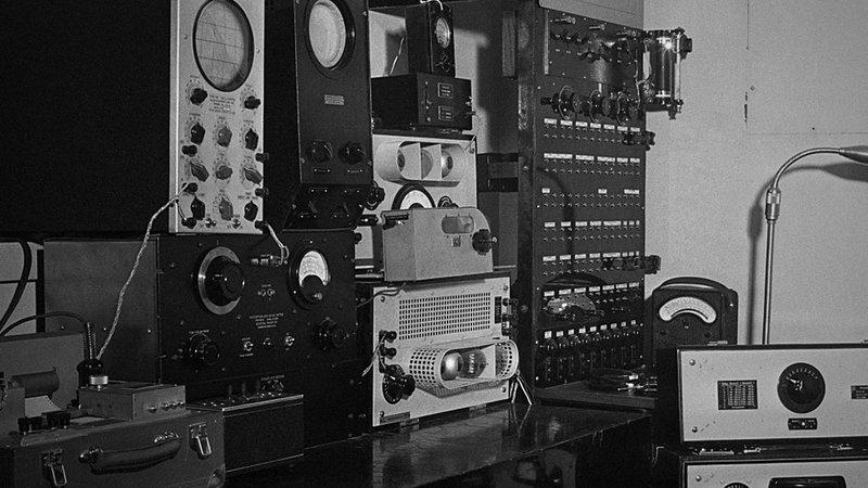 Retro radio equipment